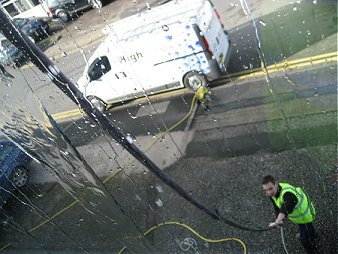 High reach water fed pole