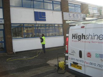 Highshine window cleaning